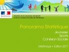 2017 - Panorama Statistique - Jeunesse, Sport, Cohésion Sociale